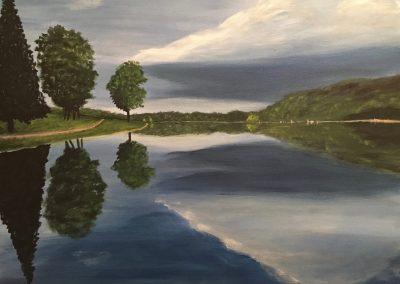 Dark Lake - Reflection