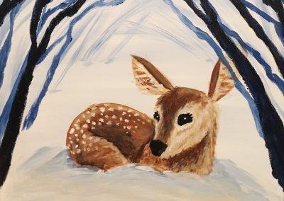 Cozy Little Deer